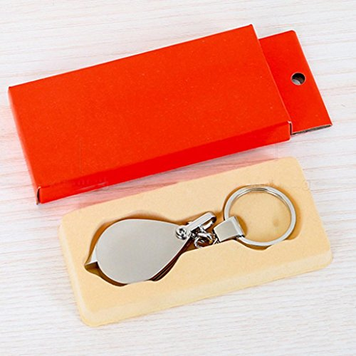 Sikye Key Chain with 8X Folding Magnifier Travel Kits Portable Magnifying Tool Keychain for Camping Hiking by Sikye (Image #3)