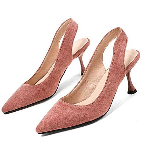 Talon Doux Zanpa Escarpins 3 Femmes Petit Pink HFwqnZp7x