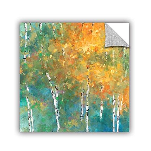"""ArtWall 2pur008a3636p Julia Purinton's Confetti II Removable Wall Art, 36"""" x 36"""""""
