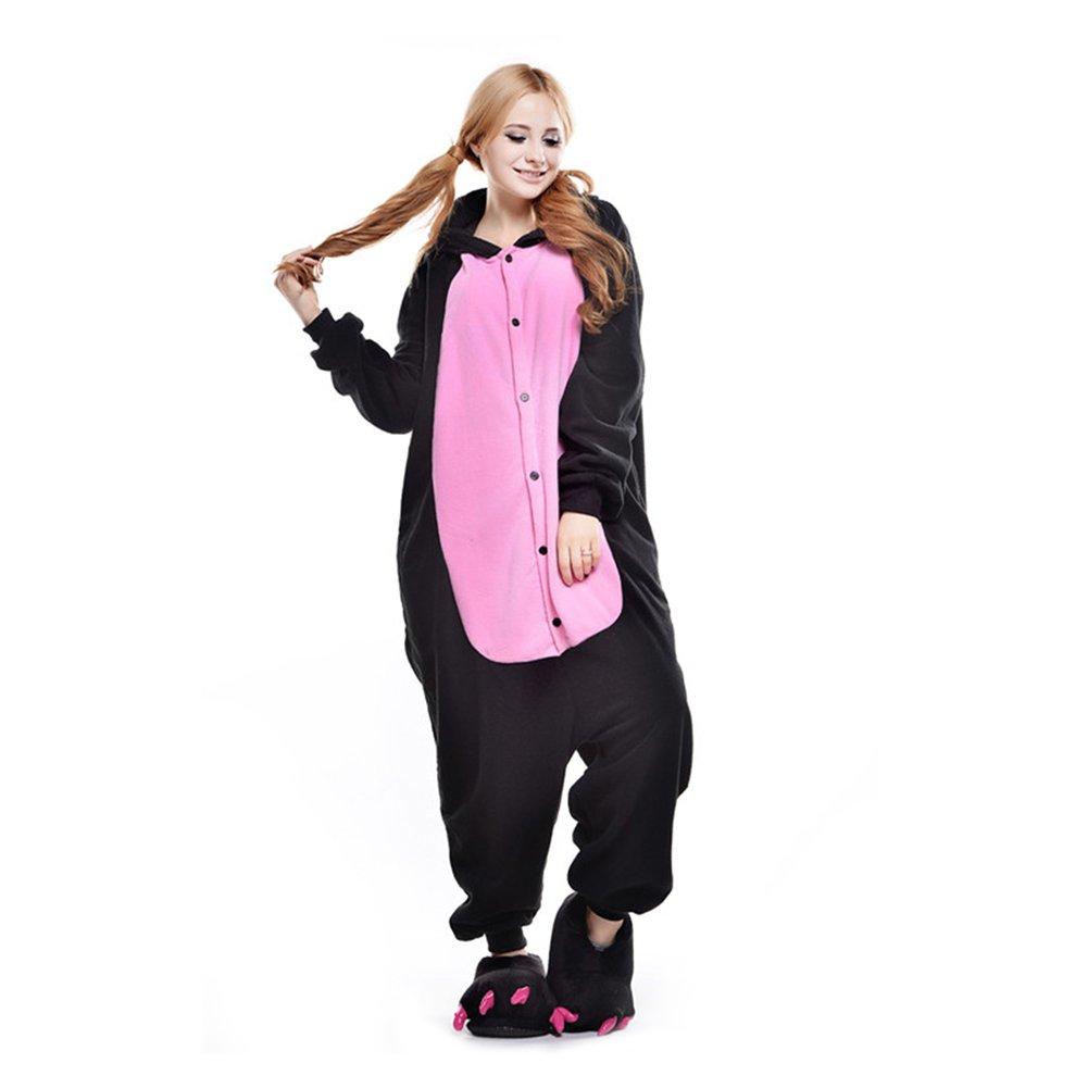 YFCH Unisex Adult Tier Onesie Pyjama Cosplay Kostüme Schlafanzug Erwachsene Jumpsuit B07FFTJFP7 Kostüme für Erwachsene Grüne, neue Technologie | Die Königin Der Qualität