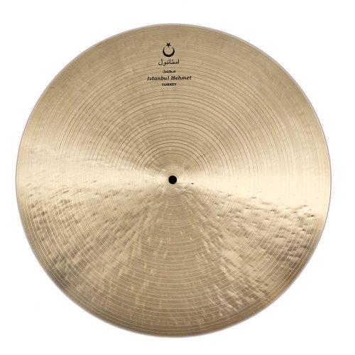 Series Flat Ride Cymbal - Istanbul Mehmet Cymbals Jazz Series N-RF22 Nostalgia Flat Ride 22-Inch Cymbal