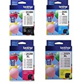 Brother LC203 1-Hi Yield Black/Cyan/Magenta/Yellow Ink For MFC-J5620DW
