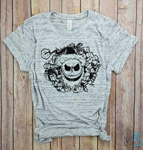 Jack Skellington Face Shirt, Jack Skellington Halloween Nightmare Before Christmas Pumpkin King Shirt, Womens Halloween shirt, Cute Female Halloween Tee, Halloween shirt, Halloween Party -