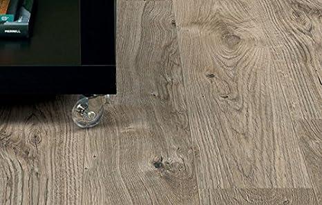 Kanten gefast wSF3W2498 Amtico First Vinyl Designbelag English Oak Wood Designbelag