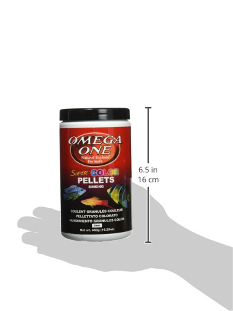 Amazon.com : Omega One Super Color Pellets - Sinking 16.25oz. : Pet Food : Pet Supplies