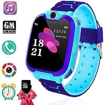 Amazon.com: Kids MP3 Players Music Watch - Smart Watch with MP3 ...