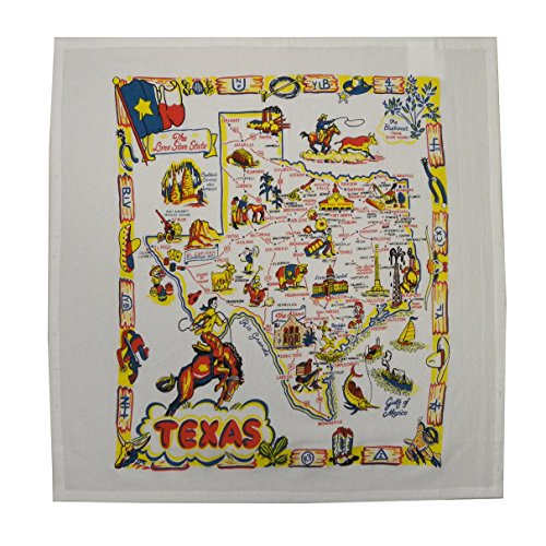Texas State Souvenir Dish Towel product image