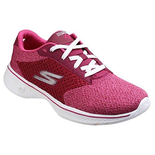 Skechers Womens/Ladies SK14146 Go Walk Exceed Trainers Rasberry
