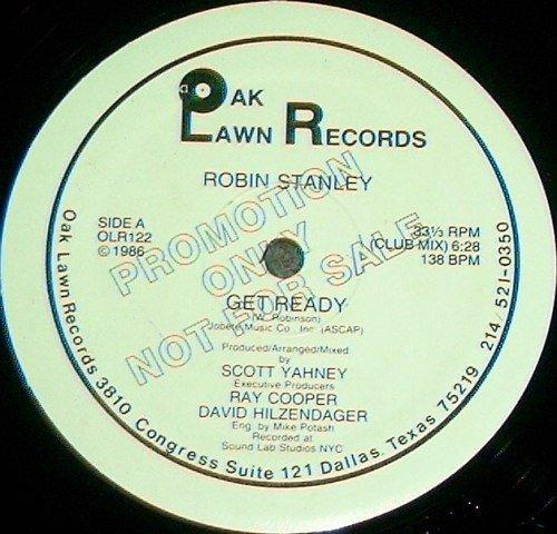 ROBIN STANLEY GET READY vinyl record (Oak Lawn Records Vinyl)