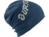 Burton Men's Reversible Marquee Beanie, Boro/Steel Blue, One-Size