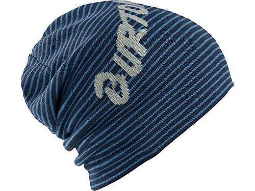 Burton Men's Reversible Marquee Beanie, Boro/Steel Blue, One-Size by Burton