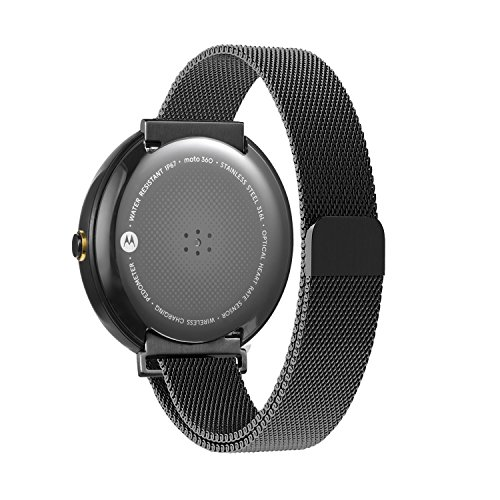 Oitom Stailess Milanese Magnetic Smartwatch