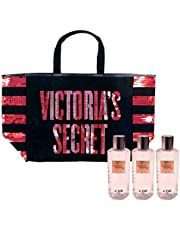 Victoria's Secret Gift Set Love Star Mist & Tote Bag 4 Piece Combo