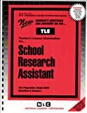 School Research Assistant 9780837381268