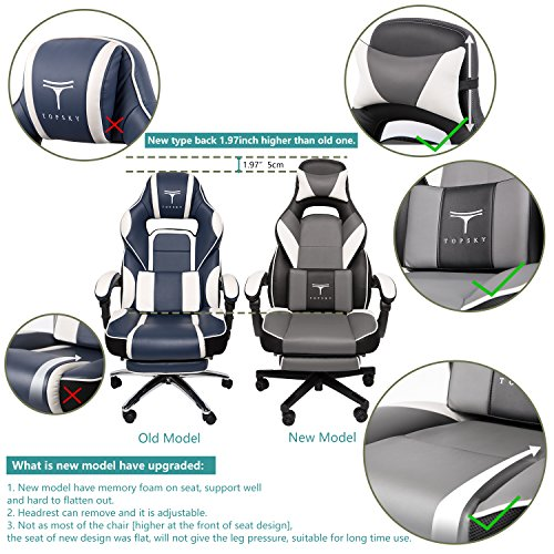 Best Gaming Chair With Footrest: Comfort And Style Combined