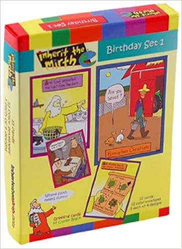 Inherit The Mirth Birthday 1 Cards 12pk Gracefully Yours 0736211794581 Amazon Books