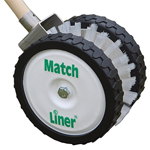 Match Liner Tennis Clay Court Line Sweeper White/ Green, One Size