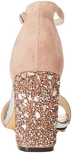 Strap Ankle Sandals Beige Women's Nude 97 Menbur Bordolano FfnRCF