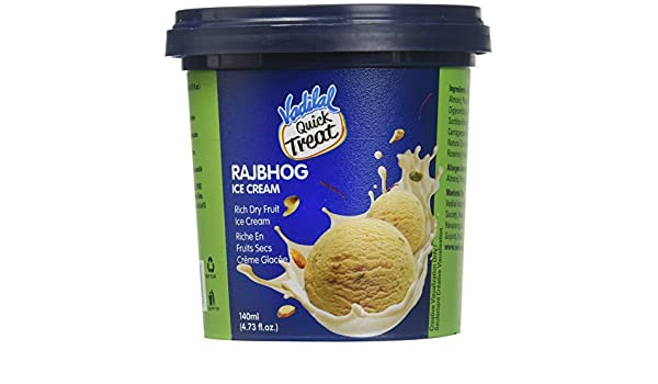 Vadilal Rajbhog Ice Cream 140 Milliliter Ml Amazon Com Grocery