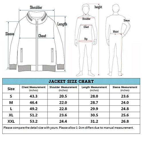 ReFire Gear Men's Warm Military Tactical Sport Fleece Hoodie Jacket, Army Green, X-Large by ReFire Gear (Image #6)