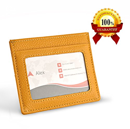 Blocking Leather Wallet Minimalist Wallets product image