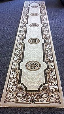 Traditional Area Rug Design Kingdom D 123 Ivory