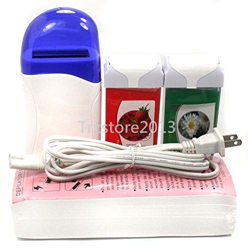 Baisidai Roll-On Depilatory Heater Azulene & Strawberry W...