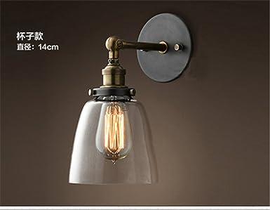 Applique extérieure rétro lampe de jardin chic