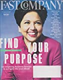 Fast Company February 2017 Indra Nooyi Find Your Purpose