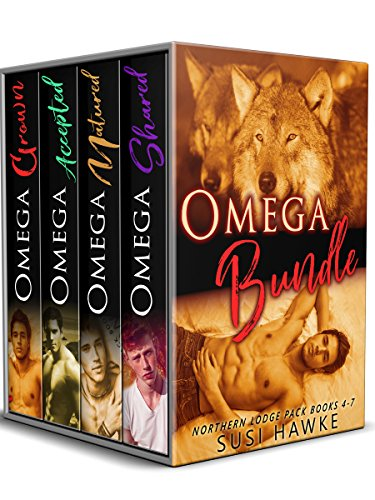 Northern Lodge Pack Omegas - Books 4-7 (The Northern Lodge Pack Book 2)