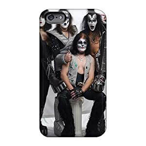 Great Hard Phone Case For Iphone 6plus With Customized Attractive Kiss Band Skin SherriFakhry