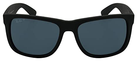 fbf43d5efcc61 Óculos de Sol Ray Ban Justin L Rb4165l 622 2v 55 Preto Polarizado   Amazon.com.br  Amazon Moda