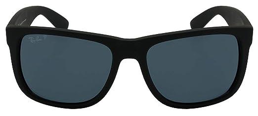 Óculos de Sol Ray Ban Justin L Rb4165l 622 2v 55 Preto Polarizado ... 83606c6e08