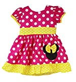 Wholesale Princess Hot Pink Minnie Mouse Halloween Costume Dress