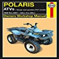 Polaris ATVs: 1998 thru 2007 250cc thru 800cc (Owners' Workshop Manual) Paperback November 11, 2011