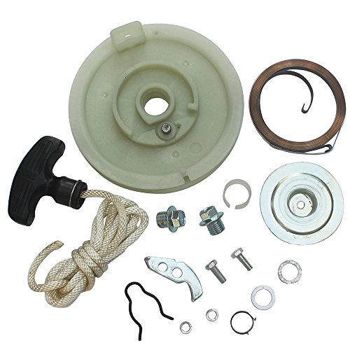 KIPA Heavy Duty Recoil Pull Starter Kit For Polaris Sportsman 300 500 Scrambler 400 Xpress 300 Xpedition 325 Trail Blazer 330 ATV Quad Rewind Recoil start - Quad Kit Starter