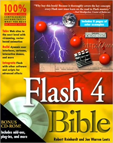 Flash 4 Bible Robert Reinhardt Jon Warren Lentz 9780764533563
