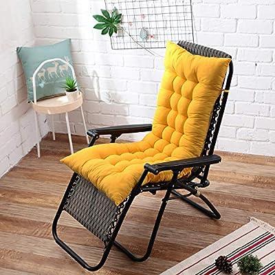Cojín para silla balancín de jardín grueso y largo, suave y cómodo, cojín para asiento de sofá: Amazon.es: Oficina y papelería