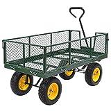 1000 lbs Heavy Duty Garden Trolley Cart Yard Garden