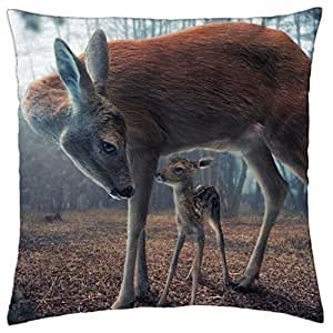 Bambi - Throw Pillow Cover Case (18