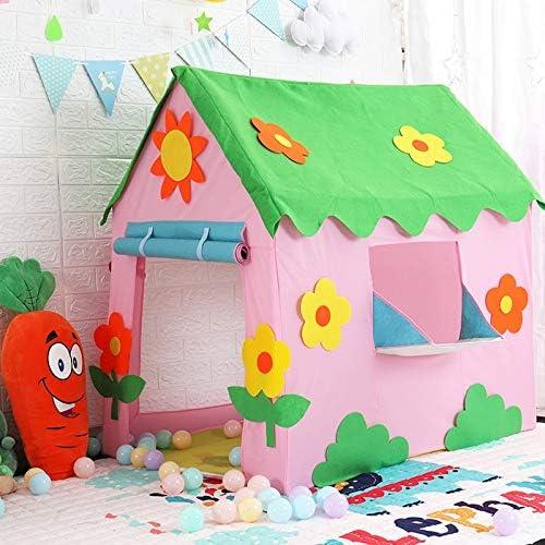 Tienda de Juegos para beb/és con t/únel de Arrastre y Ball Pit Portable Pop Up Children Playhouse con Basket Hoop Kids Game Toy