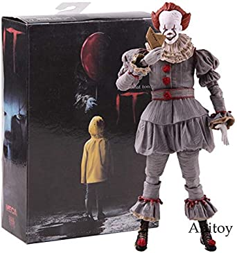 "Ultimate Stephen King/'s It Pennywise Clown Joker 7/"" Action Figure Model Toy Gift"