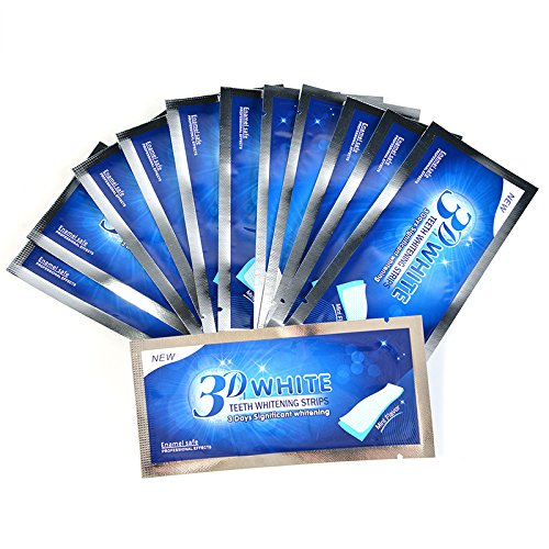 AZDENT 3D Teeth Whitening Strips Whitestrips Tooth Whitener Profession Whitening Bleaching Strips