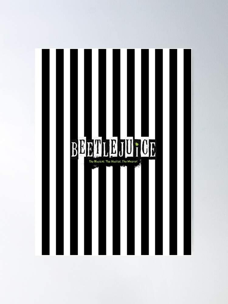 Amazon Com Kineticards Brightman Kerry Musical Anne Lydia Deetz Beetlejuice Sophia Caruso Tim Winona Burton Alex Butler Ryder Home Decor Wall Art Print Poster Posters Prints