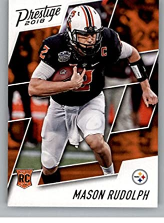 2018 Prestige NFL  236 Mason Rudolph Pittsburgh Steelers Rookie Card RC  Panini Football Card 9d60ccba6