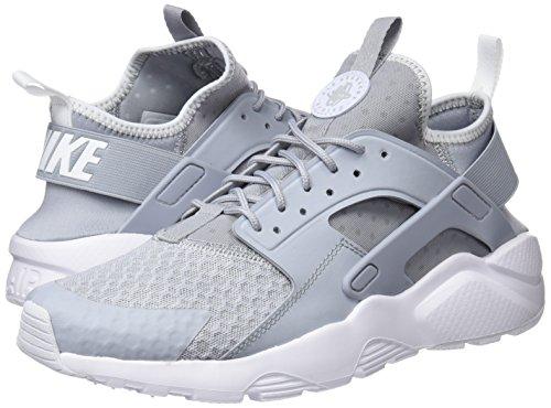 Buy Nike Men's Air Huarache Run Ultra Wolf Grey/Pale Grey White ...