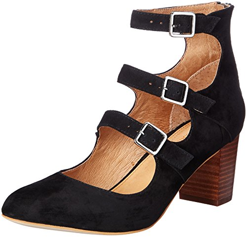 Suede Corso Pump Black Women's Dress Nico Como nq80afqY