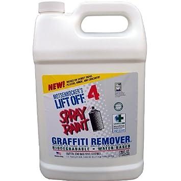 4, Spray de pintura graffitiremover 4/1gal: Amazon.es: Bricolaje y ...