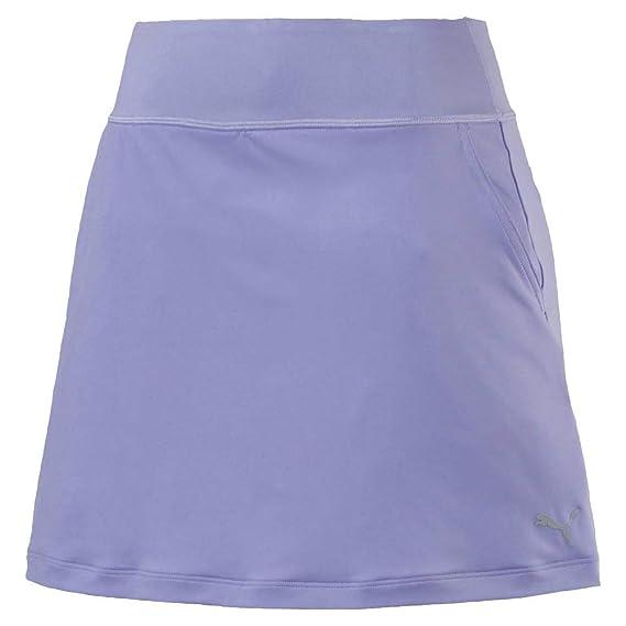 d108561ba Puma Golf Women's 2019 Pwrshape Solid Knit Skirt, Sweet Lavender, Double x  Small