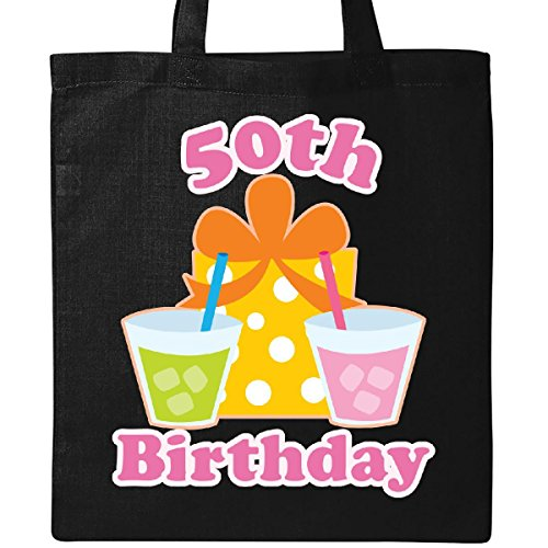 (Inktastic - 50th Birthday Party Gift Tote Bag Black)